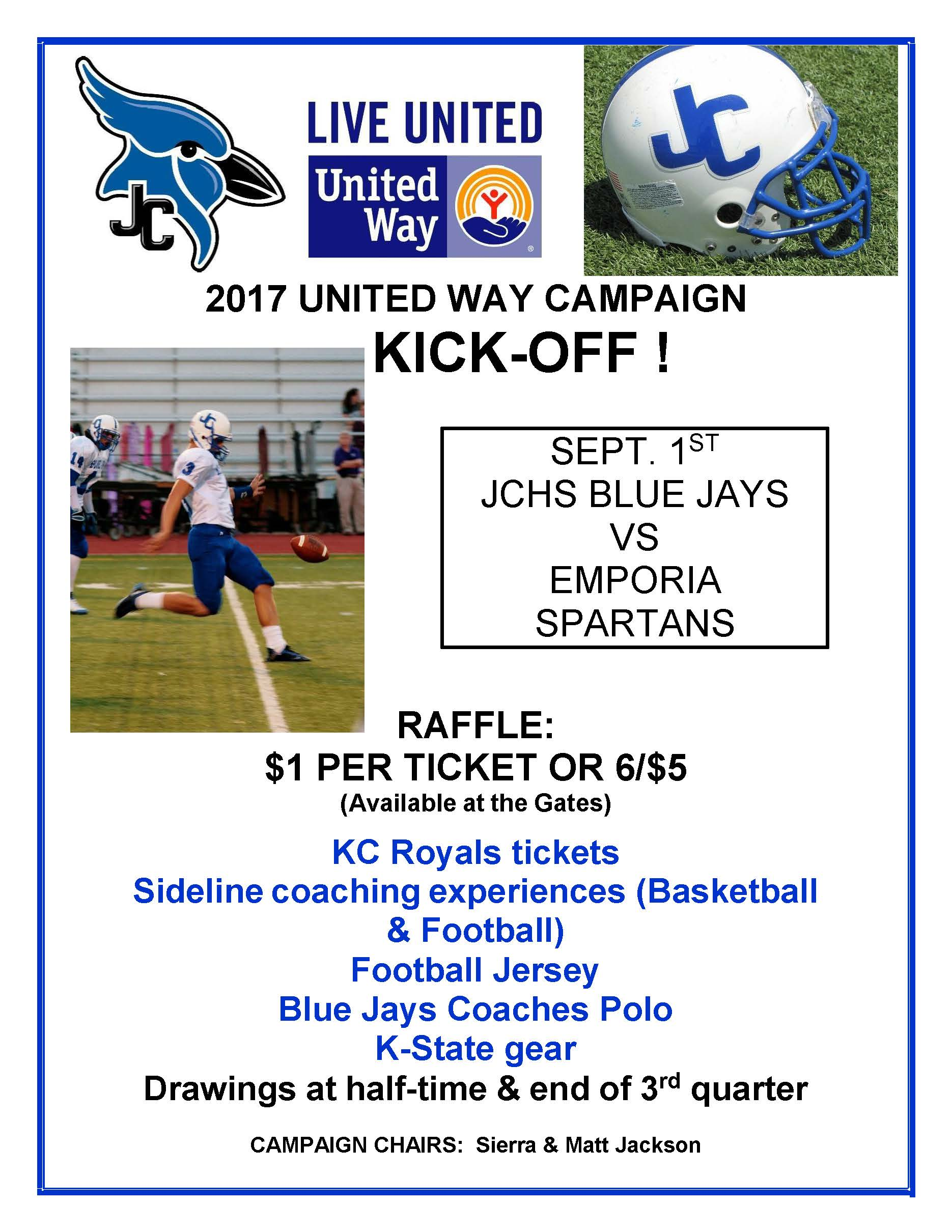 United Way Kick Off Flyer