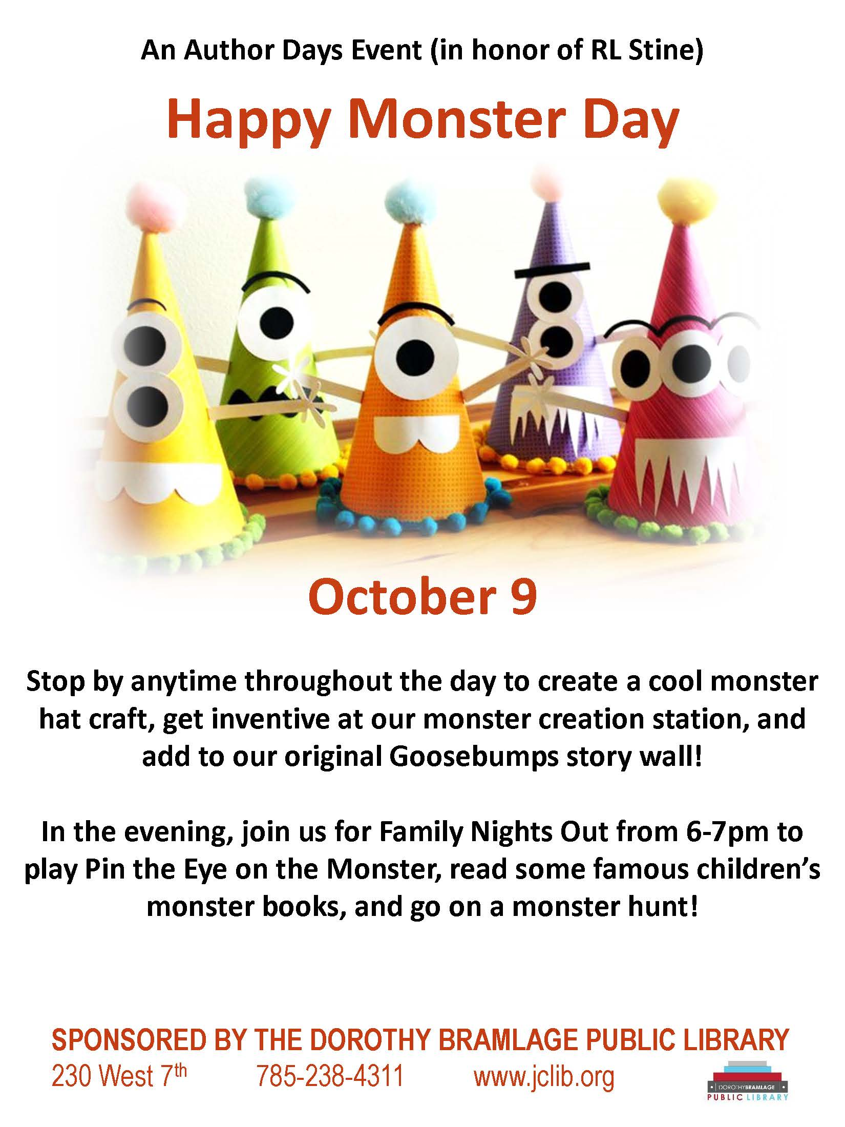 Monster Day Flyer