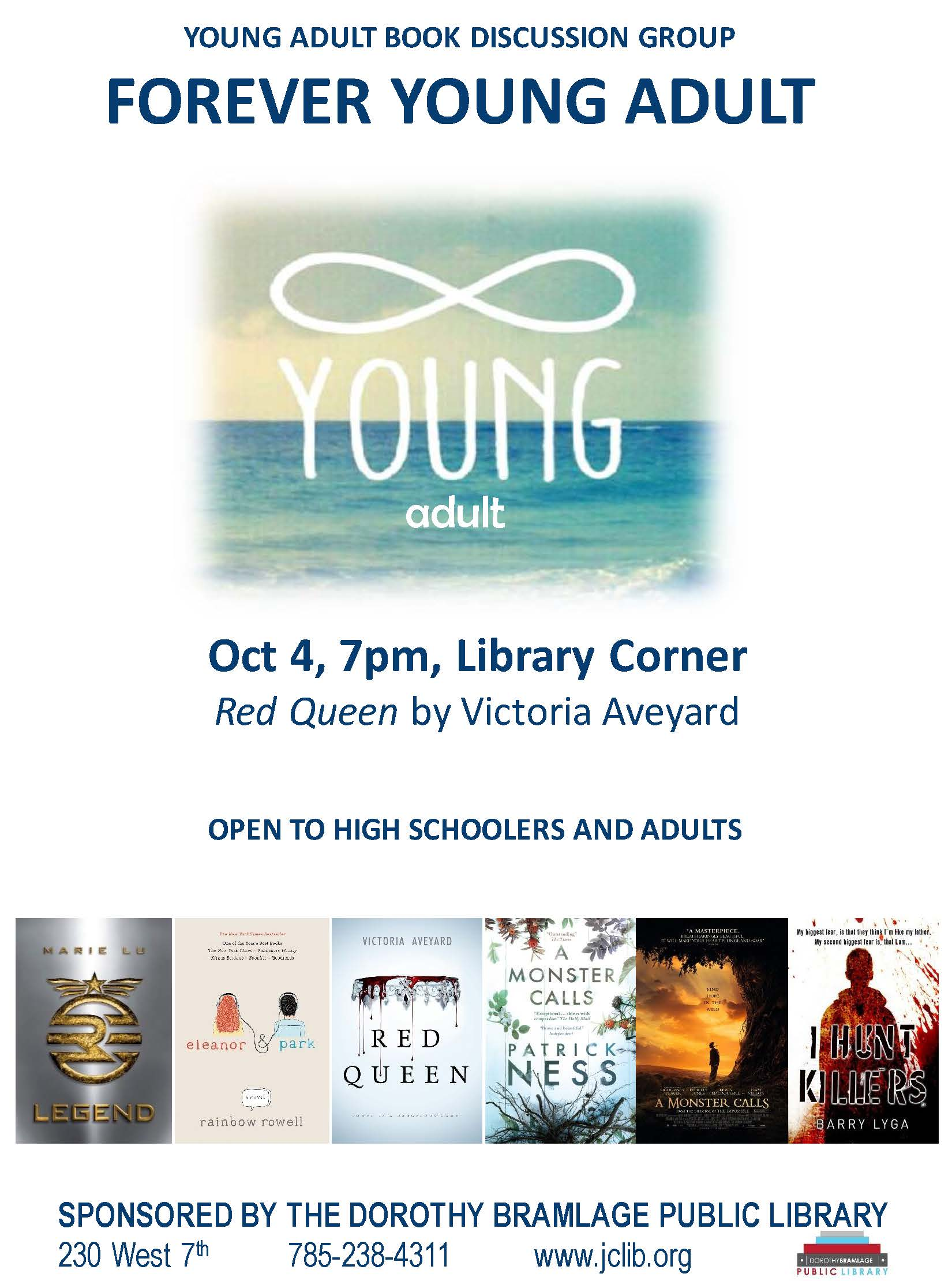 Forever Young Adult Book Flyer