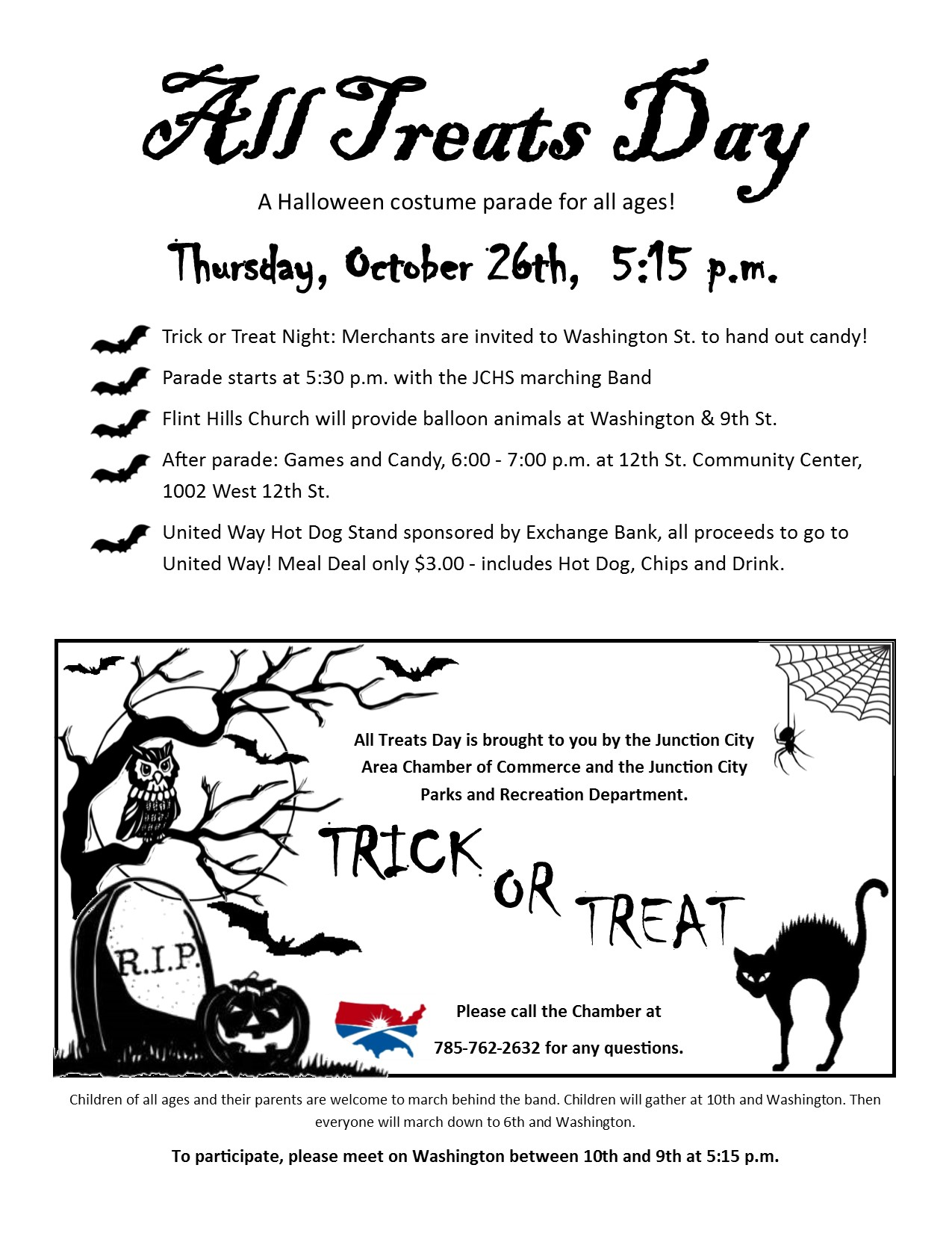 All Treats Day Flyer
