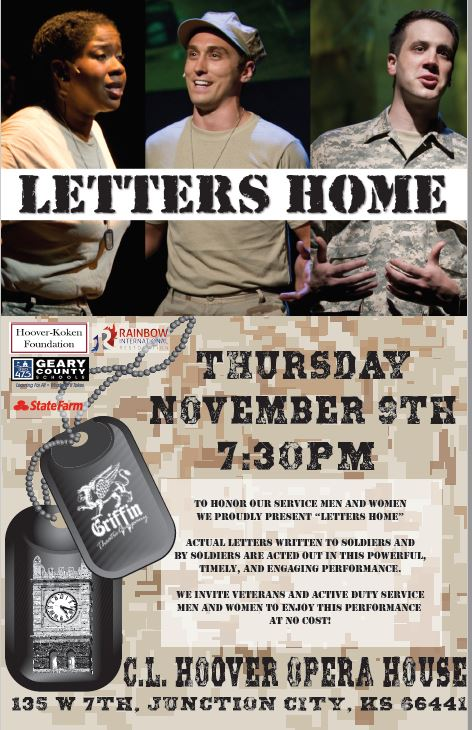 Letters Home Flyer