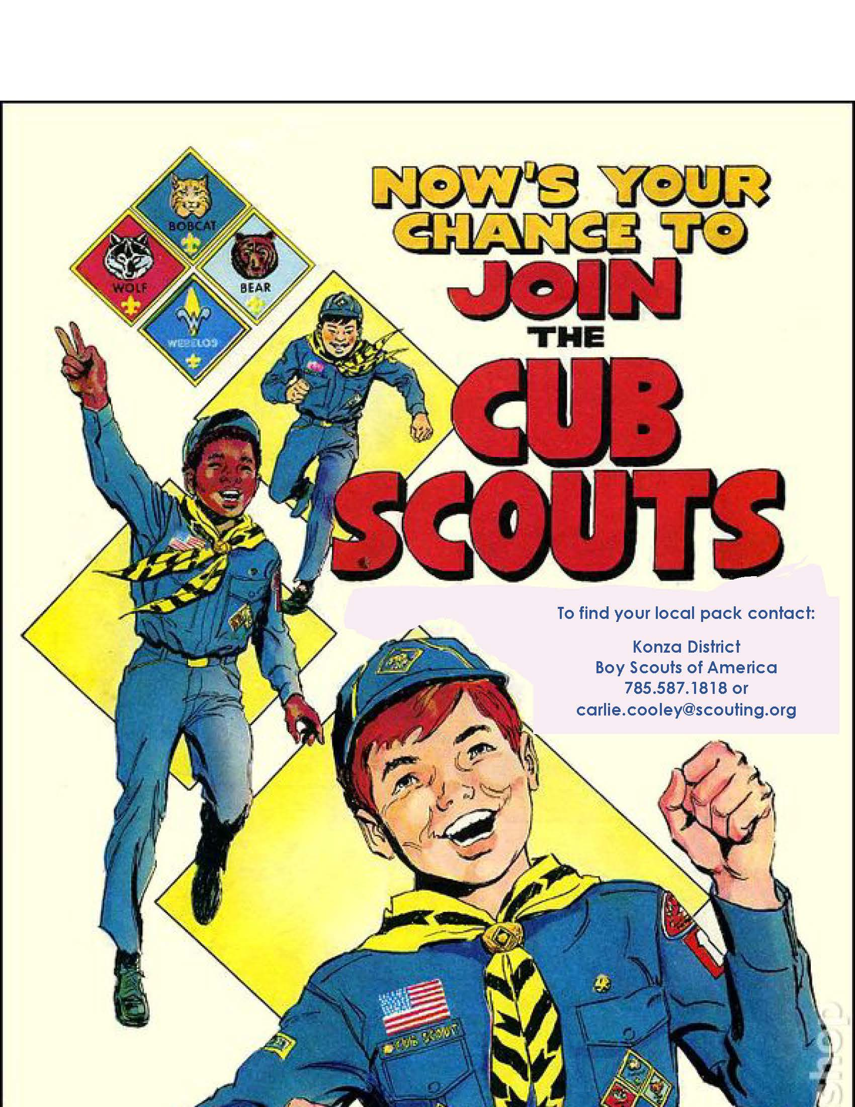 Join Cub Scouts Flyer