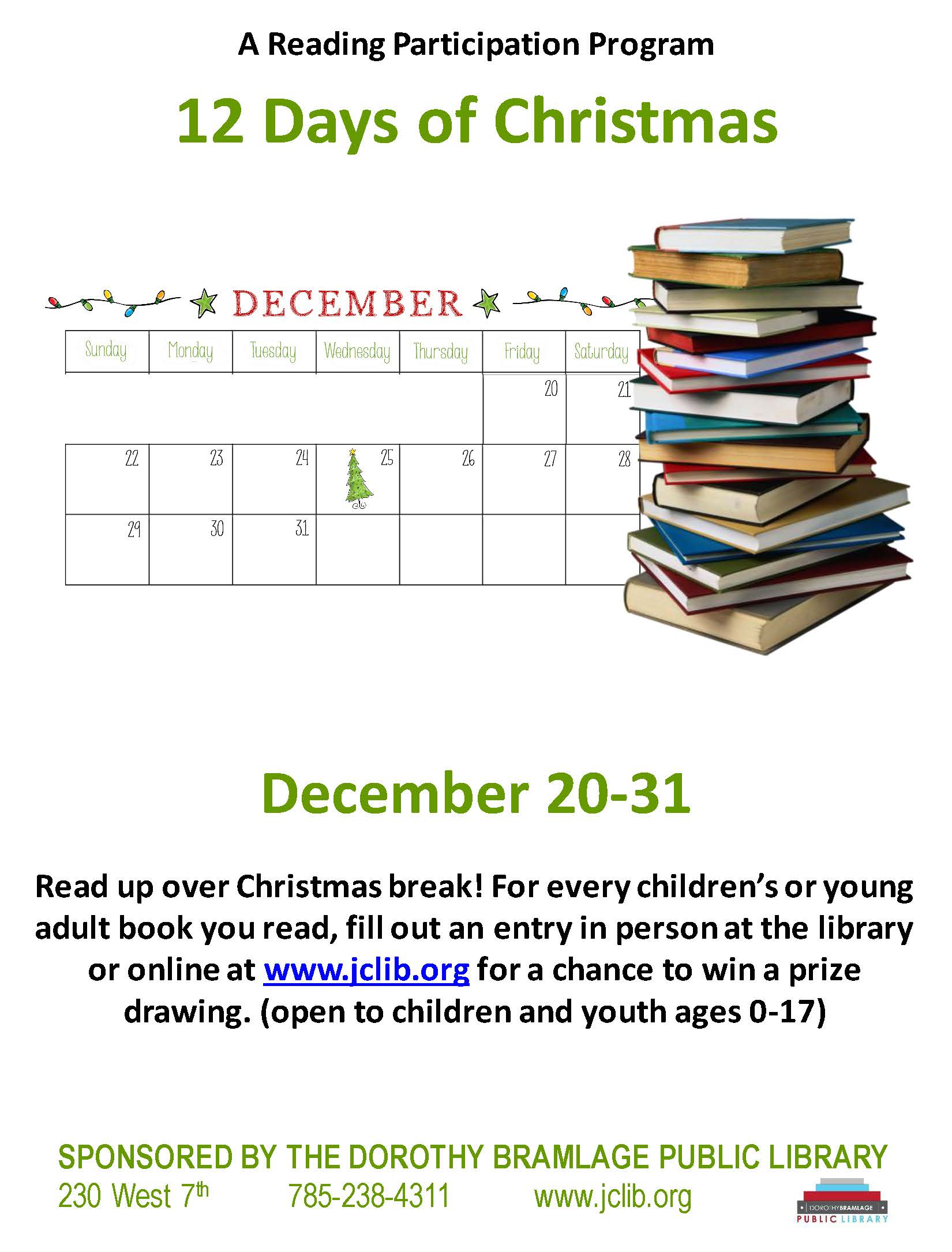 12 Days of Christmas Flyer