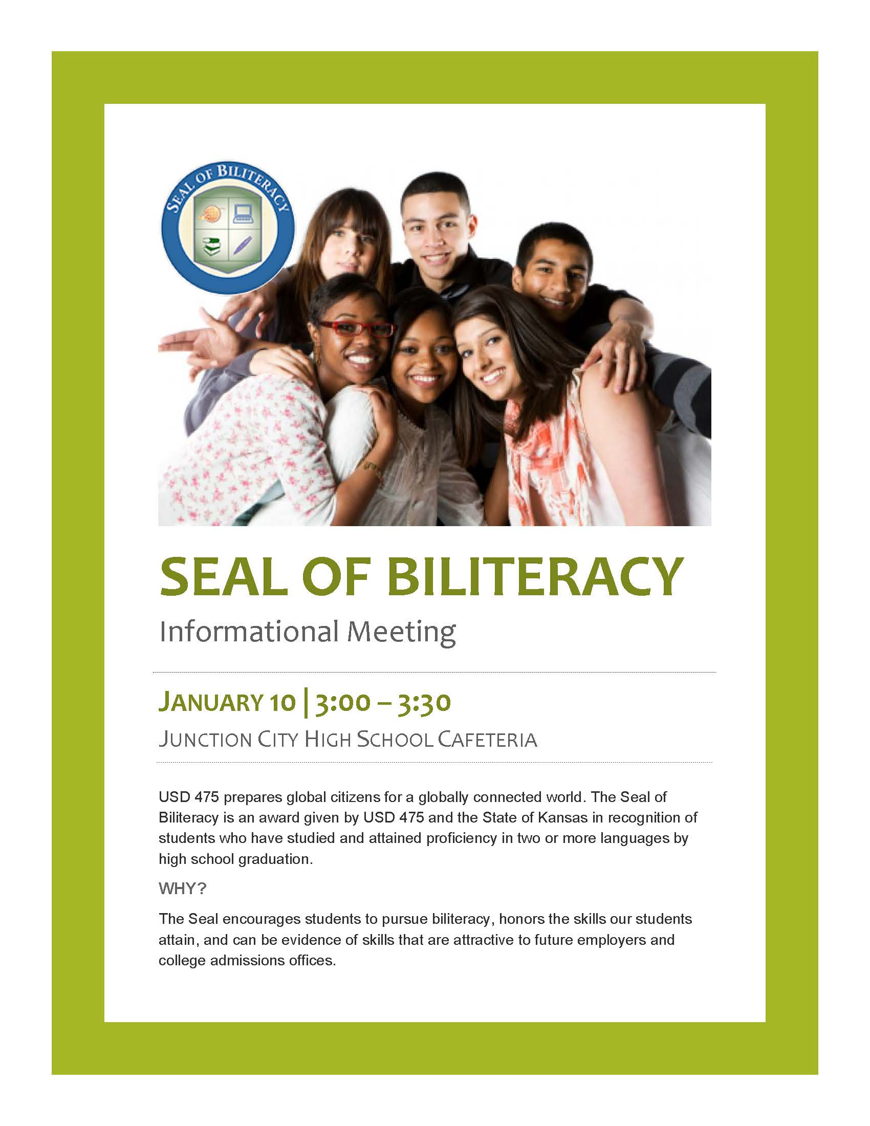 Seal of Biliteracy Flyer page 1