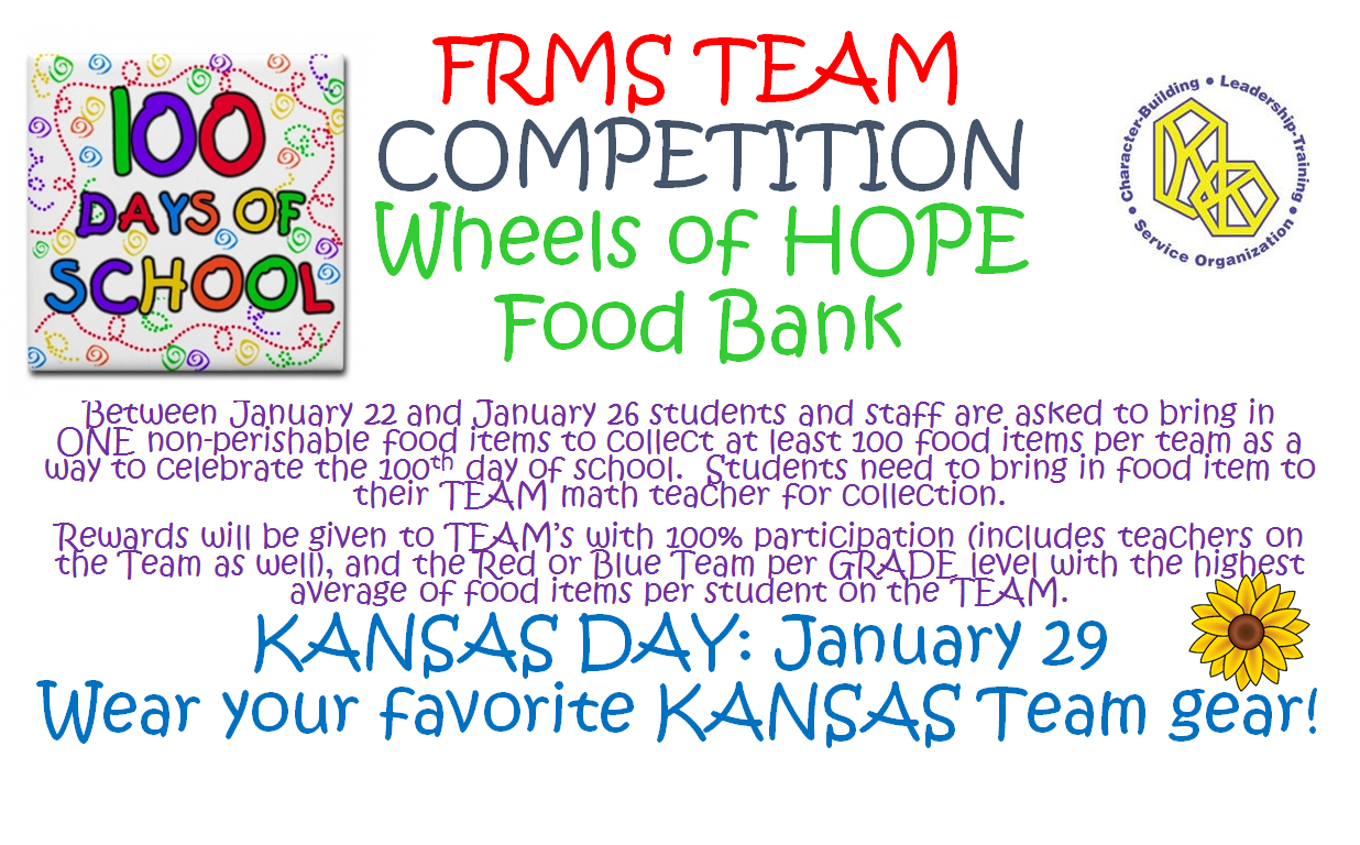 FRMS Wheels of Hope Flyer