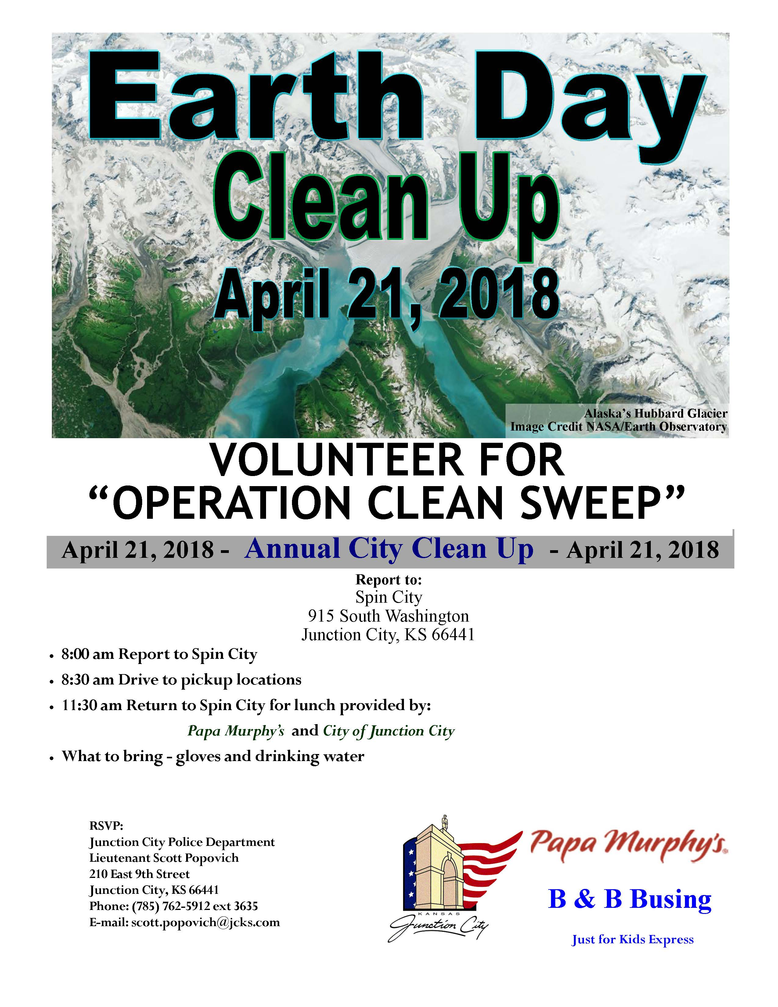 Clean Up Flyer