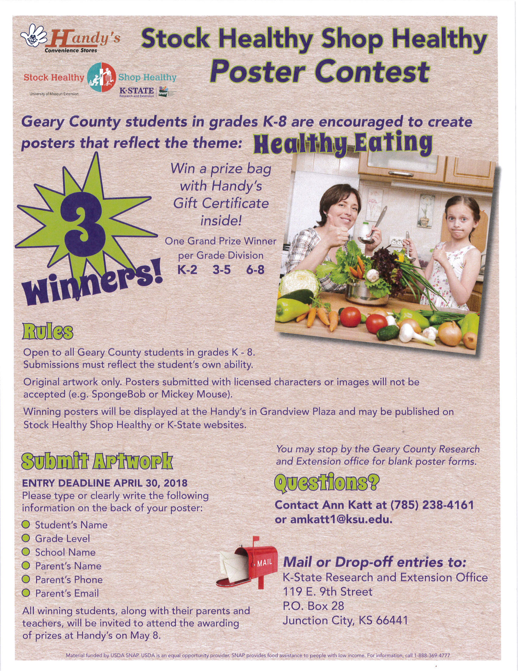 Healthy Eating Flyer