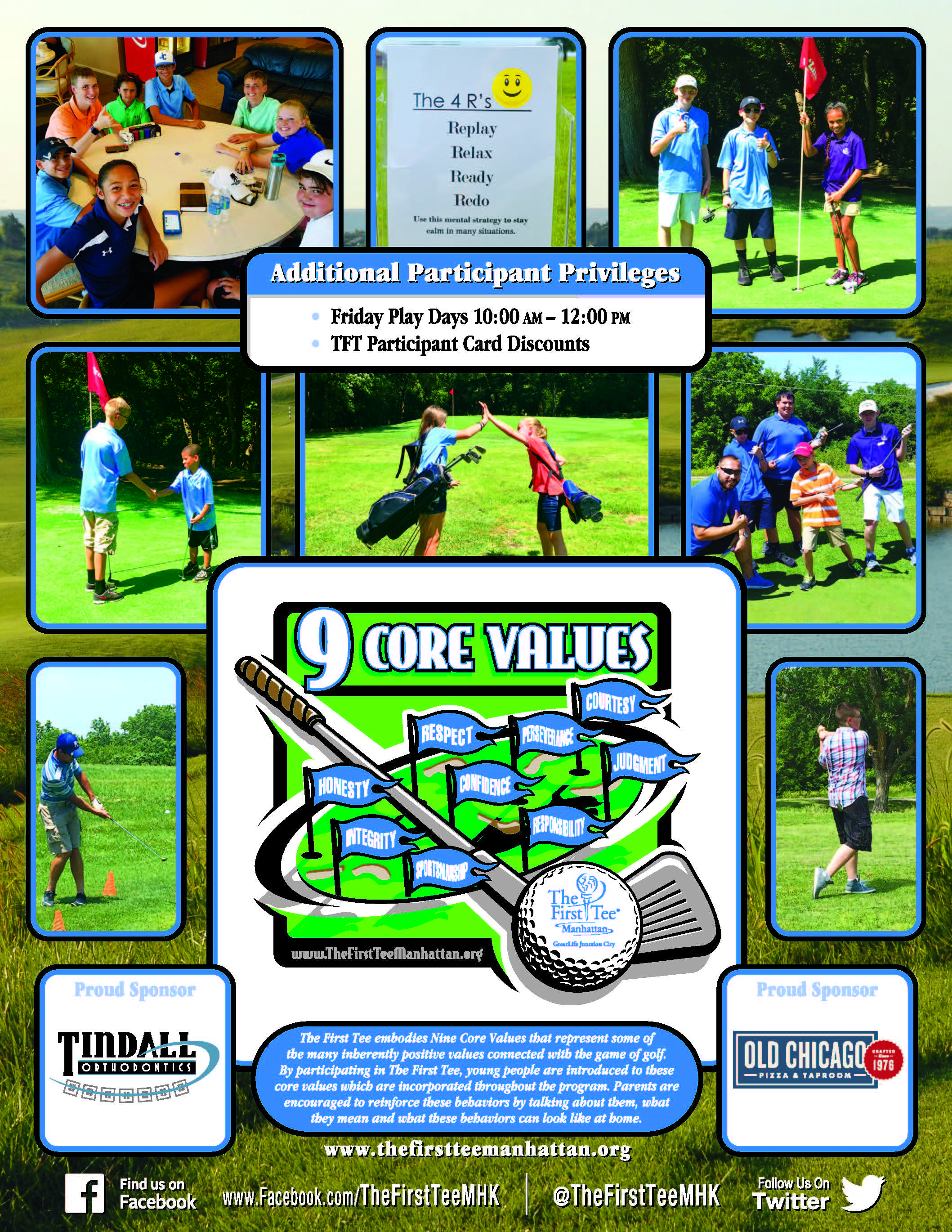 The First Tee Flyer page 2