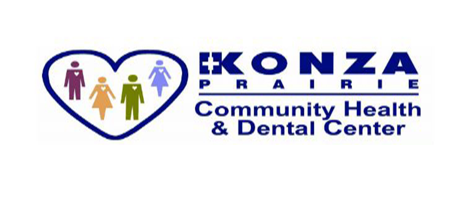 Konza Prairie Community Health and Dental Center Logo.