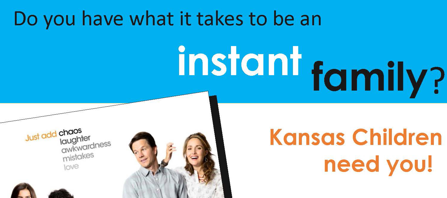 Do you have what it takes to be an instant family?