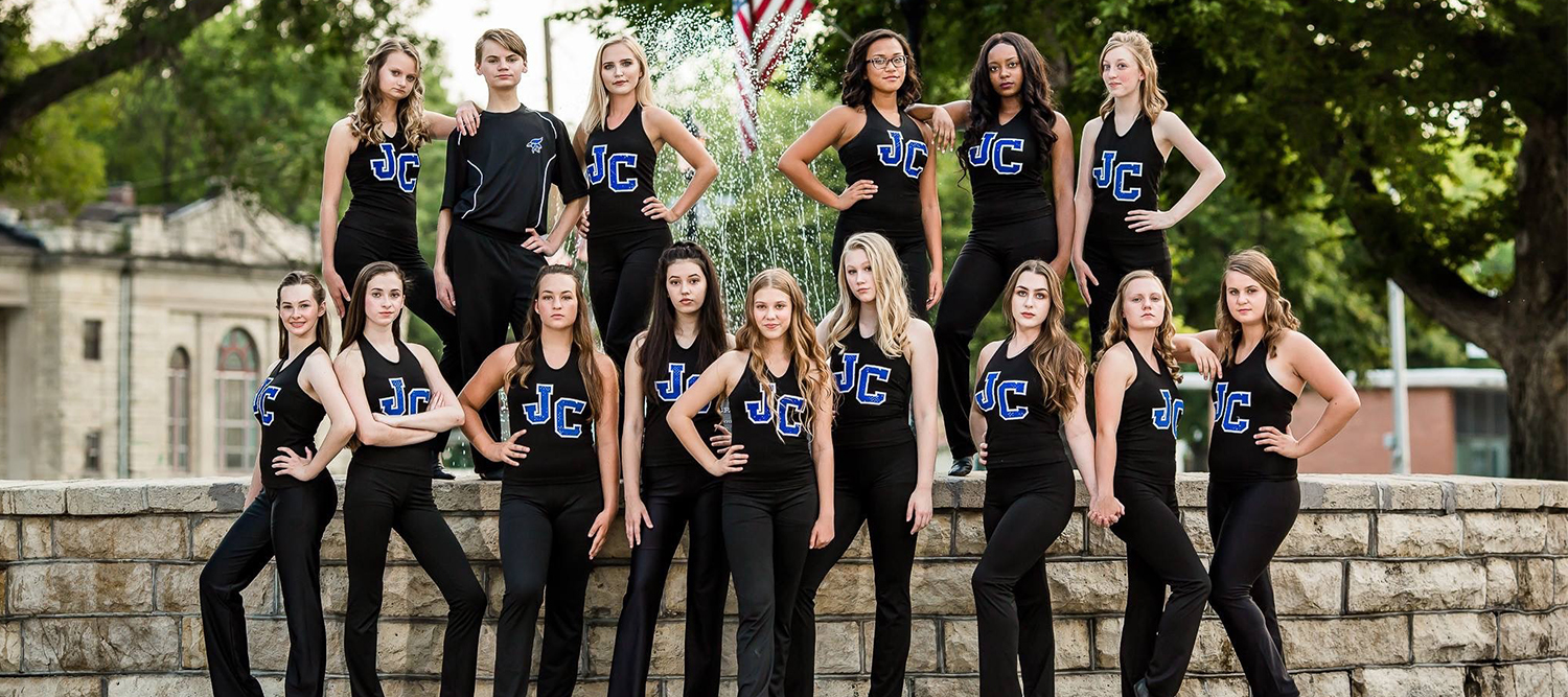 Photo of JCHS J-Stepper's Dance Team.