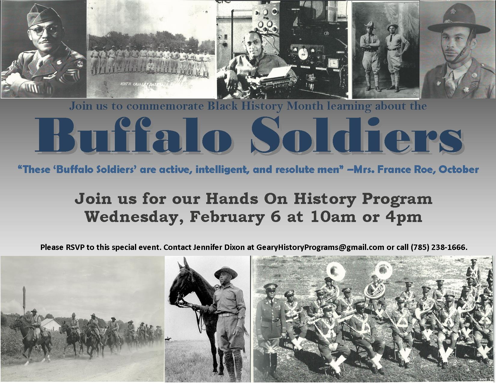 Buffalo Soldier Flyer. All information is available above.